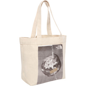 The North Face Cotton Bolsa Tote, asphalt grey fixed planet print